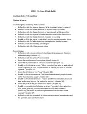 CHMN 201 Exam 3 Study Guide_2
