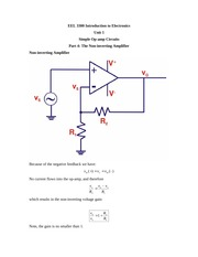 Unit_1_Part_4 Non-inverting Amplifier