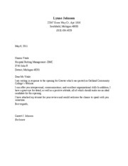 the best cover letter ever received A cover letter gone viral has generated accolades from investment banking bosses, forbes reports the wall street exec who received the cover letter from an intern hopeful, immediately forwarded it on to colleagues, with the message: this might be the best cover letter i've ever received.