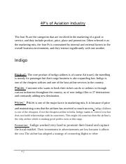4P's - Aviation industry.docx