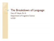 14-COGS11-The Breakdown of Language