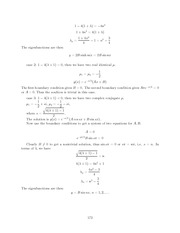 Differential Equations Lecture Work Solutions 172