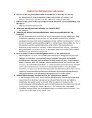 Outline Two Quiz Questions and Answers.docx