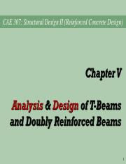Ch05_Jan2016 - T & Doubly Reinforced Beams