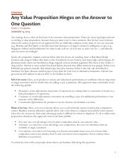 L1 M300 Cespedes (HBR) - Any Value Proposition Hinges on the Answer to One Question.pdf