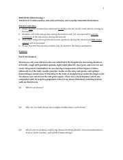 Tutorial 2 - Medical Microbiology pdf - 1 BMSN2101(Microbiology