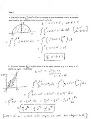 Exam 2B Solution Spring 2005 on Calculus and Analytic Geometry IV