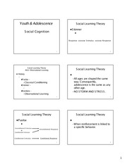 Social Cognition Guided Notes