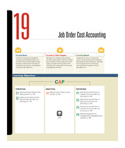 Chapter 19 Job Order Cost Accounting