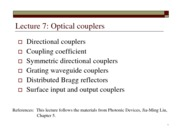 Lect7-optical couplers