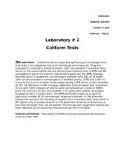 FINAL LAB REPORT 2 FOOD MICROBIOLOGY1