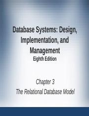 introduction to relational database modelJanuary17.ppt