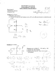 ELEC231_NetworkTheory_Exam2