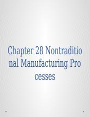 Ch28 nontraditional manufacturing processes