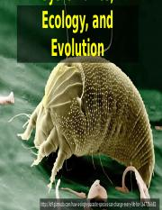2. Parasite Systematics, Ecology, and Evolution.pptx
