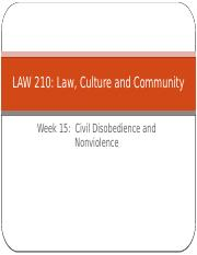 Law, Culture and Community  Week 15(1).pptx