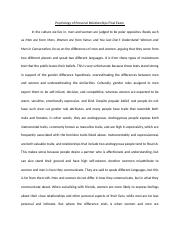 Psychology of Personal Relationships Final Exam.docx