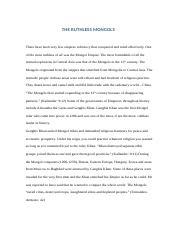 the mongols and global history pdf