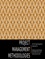SCT 413 - PROJECT MANAGEMENT - PRINCE2 AND SCRUM PROJECT MANAGEMENT METHODOLOGIES.pptx