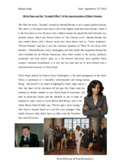 "Olivia Pope and the ""Scandal Effect"" of the representation of Black Women"