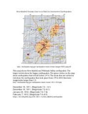 New Madrid Seismic Zone is at Risk for Destructive Earthquakes