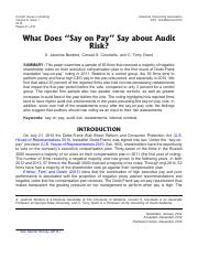 say-on-pay