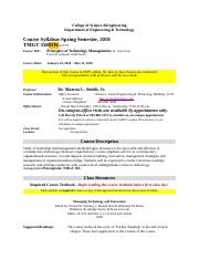 TMGT 350-01W Principles of Technology Management.docx