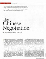 TheChineseNegotiation.HBR.October.2003.pdf