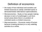 000Definition of economics
