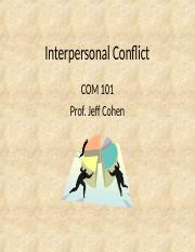 Ch 12-1 Conflict Types(1)
