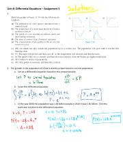 Unit 8 Assignment 3 Solutions