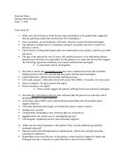 Case studies meningitis and HIV (1).docx