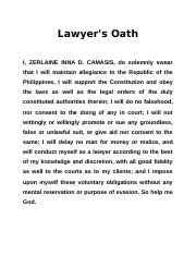 nature of a lawyer's oath The oath of an attorney i the other definition connotates the sacred nature of a man's word the oath every attorney who practices in texas is the people's.