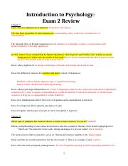 Shacter 2nd Exam 2 Review