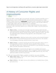 Lexington Law 2011 A history of consumer rights and improvements.docx