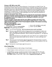 PPE 3004 CourseCompass Info 01-07
