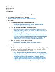 Claims & Evidence Assignment.docx