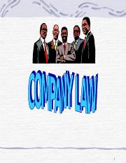 9-Company LAW 1.ppt