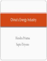 China's Energy Industry.pdf