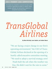 TransGlobal Airlines Case
