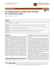 scan statistic