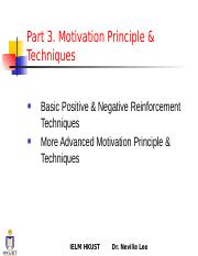 Notes9_PM II  Motivation