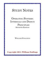 Practice Solutions Os7e Solutions To Practice Problems Operating Systems Internals And Design Principles Seventh Edition William Stallings Copyright Course Hero