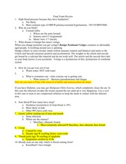 Final Study Guide 4