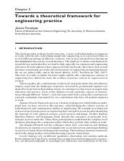 Trevelyan, J. (2014) - Towards a theoretical framework for engineering practice.pdf