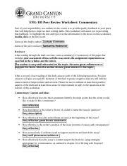 Interrogative essay
