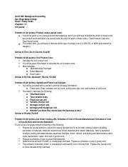 Managerial  Exam 1 Study Guide (Chapters 1-3) (1).docx