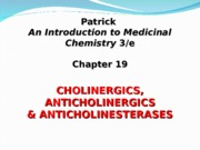 Cholinergics and Anticholinergics drugs-4.ppt