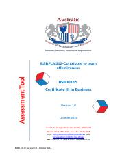 BSBFLM312-Contribute to team effectiveness (2) (1).docx