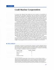 Craft Marine Corporation